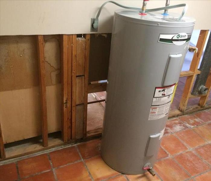 Water Heater Causes Slow Leak that Lead to Mold Growth