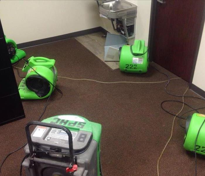 Drinking Fountain Causes Water Damage in San Antonio Office
